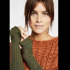 Free People Cashmere Blend Armwarmers Fingerless